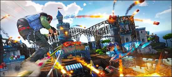 Screenshot: Sunset Overdrive [E3 2014]